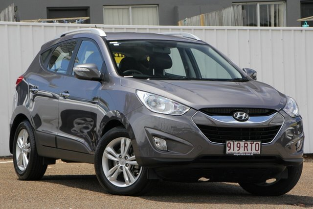 Used Hyundai ix35 LM MY11 Elite AWD, 2011 Hyundai ix35 LM MY11 Elite AWD Grey 6 Speed Sports Automatic Wagon
