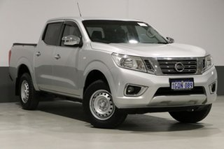 2015 Nissan Navara NP300 D23 RX (4x2) Silver 7 Speed Automatic Double Cab Utility.