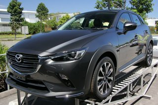 2021 Mazda CX-3 DK2W7A sTouring SKYACTIV-Drive FWD Machine Grey 6 Speed Sports Automatic Wagon.