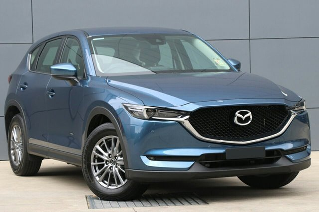 New Mazda CX-5 KF4WLA Touring SKYACTIV-Drive i-ACTIV AWD, 2018 Mazda CX-5 KF4WLA Touring SKYACTIV-Drive i-ACTIV AWD Eternal Blue 6 Speed Sports Automatic
