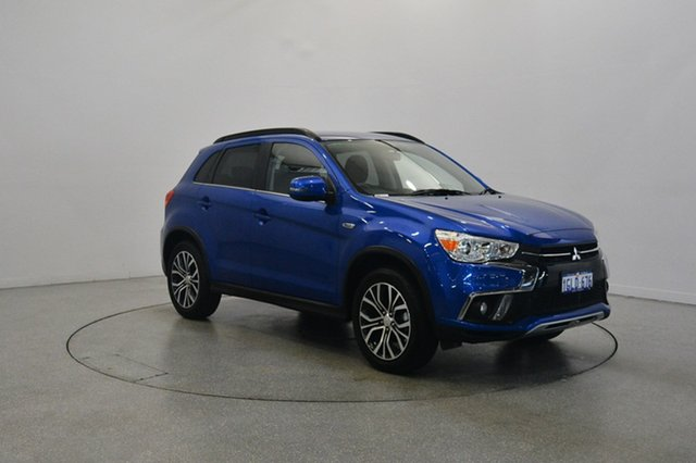 Used Mitsubishi ASX XC MY17 LS 2WD, 2017 Mitsubishi ASX XC MY17 LS 2WD Lightning Blue 6 Speed Constant Variable Wagon