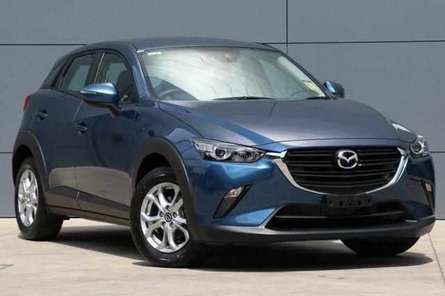 New Mazda CX-3 DK2W76 Neo SKYACTIV-MT FWD Sport, 2018 Mazda CX-3 DK2W76 Neo SKYACTIV-MT FWD Sport Eternal Blue 6 Speed Manual Wagon