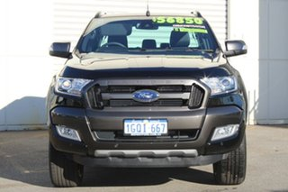 2018 Ford Ranger PX MKII 2018.00 Wildtrak Double Cab Shadow Black 6 Speed Sports Automatic Utility.