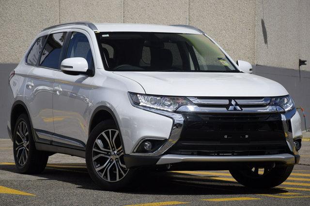 New Mitsubishi Outlander ZL MY18.5 LS AWD, 2018 Mitsubishi Outlander ZL MY18.5 LS AWD Sterling Silver 6 Speed Constant Variable Wagon