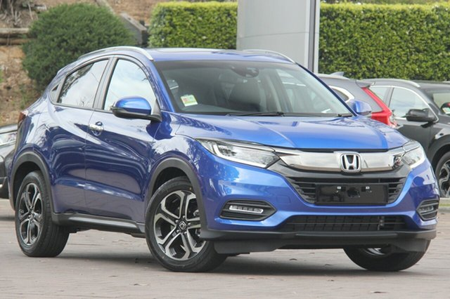 New Honda HR-V MY19 VTi-LX, 2019 Honda HR-V MY19 VTI-LX Brilliant Sporty Blue 1 Speed Constant Variable Hatchback