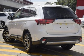 2018 Mitsubishi Outlander ZL MY18.5 LS AWD Sterling Silver 6 Speed Constant Variable Wagon.