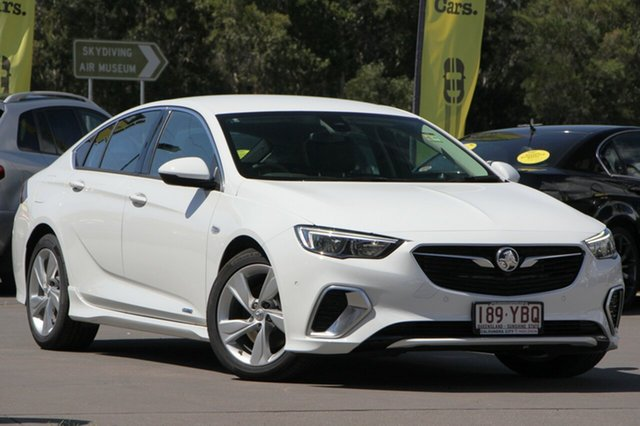 Used Holden Commodore ZB MY18 RS-V Liftback AWD, 2017 Holden Commodore ZB MY18 RS-V Liftback AWD Summit White 9 Speed Sports Automatic Liftback