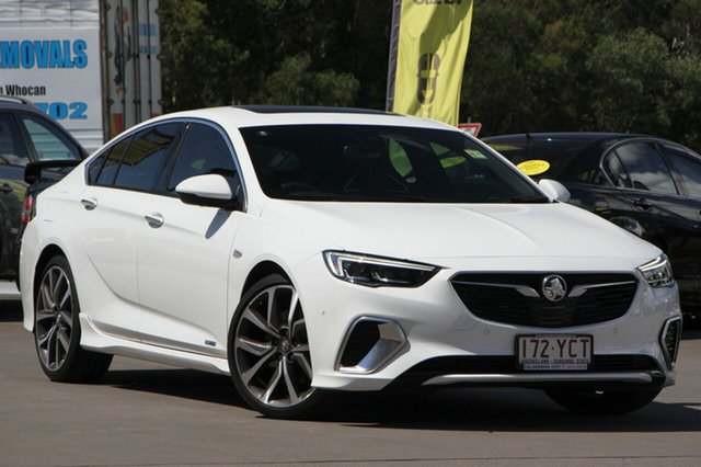 Used Holden Commodore ZB MY18 VXR Liftback AWD, 2017 Holden Commodore ZB MY18 VXR Liftback AWD Summit White 9 Speed Sports Automatic Liftback