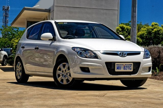 Used Hyundai i30 FD MY10 SX, 2010 Hyundai i30 FD MY10 SX White 4 Speed Automatic Hatchback