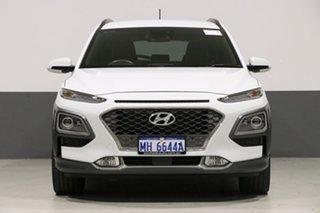 2017 Hyundai Kona OS Highlander (FWD) White 6 Speed Automatic Wagon.