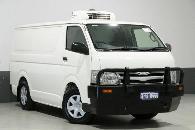 Used Toyota Hiace KDH201R MY12 Upgrade LWB, 2013 Toyota Hiace KDH201R MY12 Upgrade LWB White 5 Speed Manual Van
