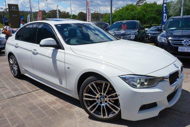 Used BMW 320d F30 MY1114 M Sport, 2014 BMW 320d F30 MY1114 M Sport White 8 Speed Sports Automatic Sedan