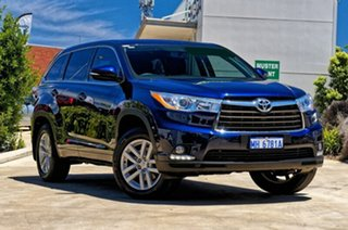 2015 Toyota Kluger GSU50R GX 2WD Blue 6 Speed Sports Automatic Wagon.