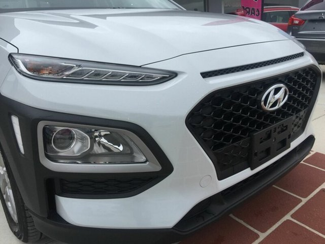 Used Hyundai Kona OS MY18 Active 2WD, 2018 Hyundai Kona OS MY18 Active 2WD White 6 Speed Sports Automatic Wagon