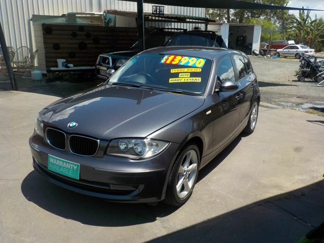 Used BMW 120d E87 MY07 Upgrade , 2008 BMW 120d E87 MY07 Upgrade Grey 6 Speed Automatic Hatchback