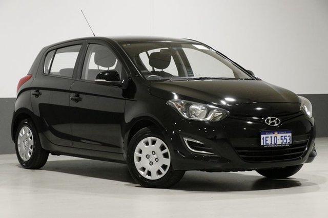 Used Hyundai i20 PB MY12.5 Active, 2013 Hyundai i20 PB MY12.5 Active Black 6 Speed Manual Hatchback
