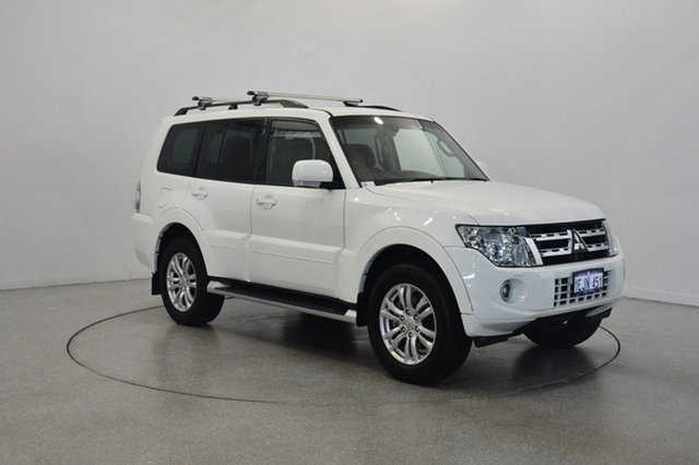 Used Mitsubishi Pajero NW MY13 VR-X, 2013 Mitsubishi Pajero NW MY13 VR-X White 5 Speed Sports Automatic Wagon
