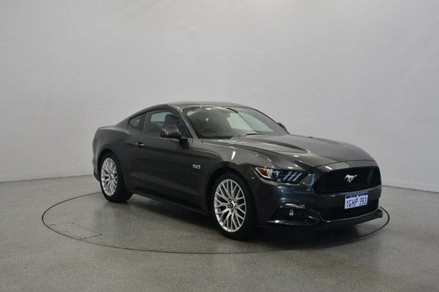 Used Ford Mustang FM 2017MY GT Fastback, 2017 Ford Mustang FM 2017MY GT Fastback Grey 6 Speed Manual Fastback