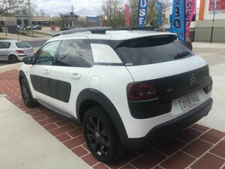 2017 Citroen C4 Cactus E3 MY18 Exclusive White 6 Speed Sports Automatic Wagon.