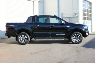 2018 Ford Ranger PX MKII 2018.00 Wildtrak Double Cab Shadow Black 6 Speed Sports Automatic Utility