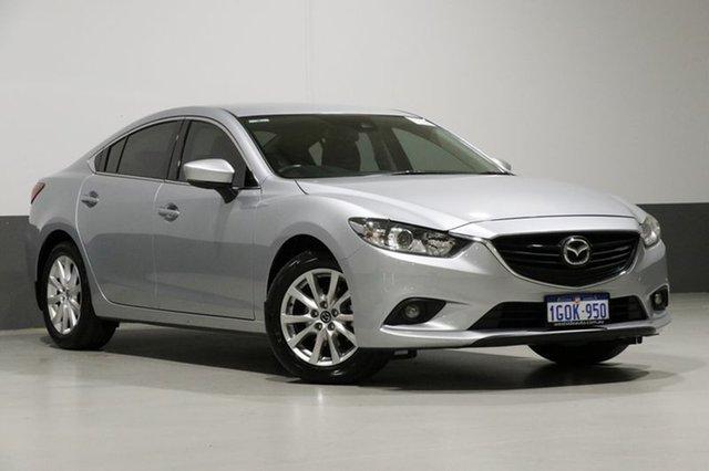 Used Mazda 6 6C MY15 Sport, 2016 Mazda 6 6C MY15 Sport Silver 6 Speed Automatic Sedan