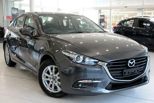 New Mazda 3 BN5278 Maxx SKYACTIV-Drive Sport, 2018 Mazda 3 BN5278 Maxx SKYACTIV-Drive Sport Machine Grey 6 Speed Sports Automatic Sedan