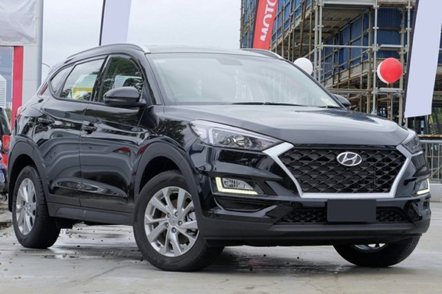New Hyundai Tucson TL3 MY19 Active X 2WD, 2019 Hyundai Tucson TL3 MY19 Active X 2WD Phantom Black 6 Speed Automatic Wagon