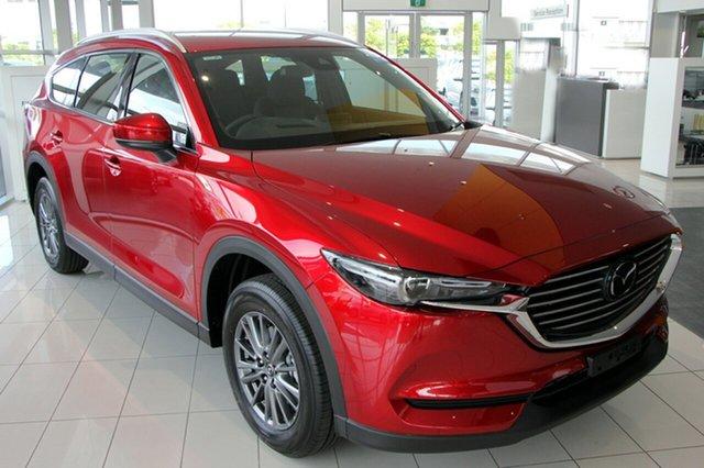 New Mazda CX-8 KG2W2A Sport SKYACTIV-Drive FWD, 2019 Mazda CX-8 KG2W2A Sport SKYACTIV-Drive FWD Soul Red 6 Speed Sports Automatic Wagon