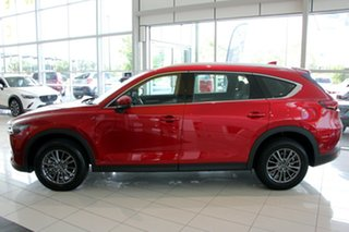 2020 Mazda CX-8 KG2WLA Sport SKYACTIV-Drive FWD Soul Red Crystal 6 Speed Sports Automatic Wagon.