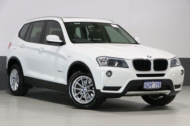 Used BMW X3 F25 xDrive 20D, 2012 BMW X3 F25 xDrive 20D White 8 Speed Automatic Wagon
