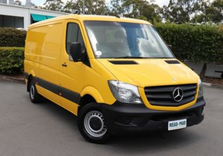 2014 Mercedes-Benz Sprinter NCV3 MY14 313CDI Low Roof SWB Yellow 6 Speed Manual Van.