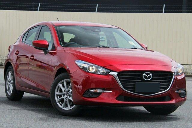 New Mazda 3 BN5478 Maxx SKYACTIV-Drive Sport, 2018 Mazda 3 BN5478 Maxx SKYACTIV-Drive Sport Soul Red 6 Speed Sports Automatic Hatchback