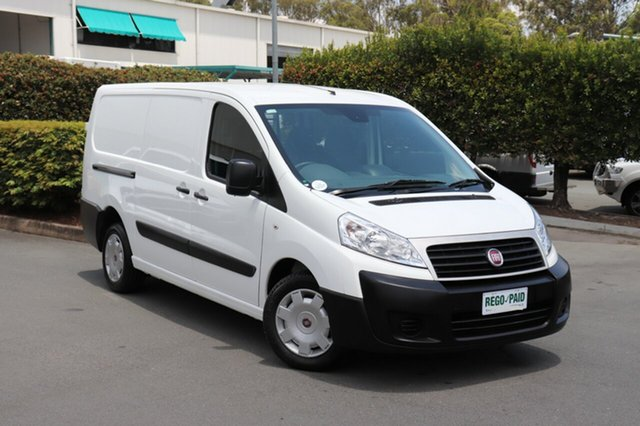 Used Fiat Scudo  Low Roof LWB, 2014 Fiat Scudo Low Roof LWB Pack White 6 Speed Manual Van