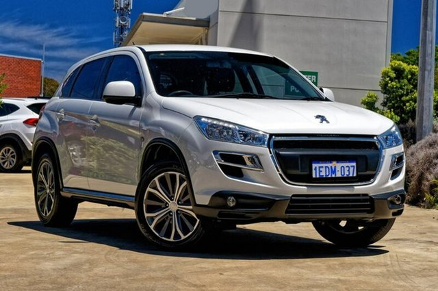 Used Peugeot 4008 MY13 Allure 4WD, 2013 Peugeot 4008 MY13 Allure 4WD White 6 Speed Constant Variable Wagon