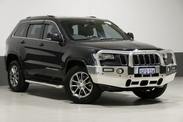 Used Jeep Grand Cherokee WK MY14 Laredo (4x2), 2014 Jeep Grand Cherokee WK MY14 Laredo (4x2) Steel Blue 8 Speed Automatic Wagon
