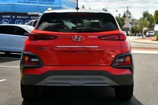 2020 Hyundai Kona OS.3 MY20 Highlander D-CT AWD Pulse Red 7 Speed Sports Automatic Dual Clutch Wagon