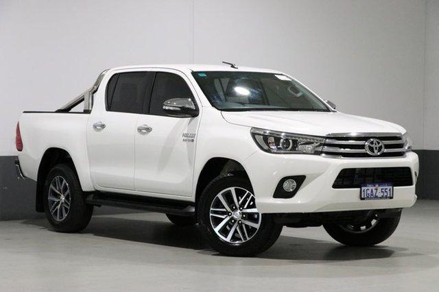 Used Toyota Hilux GUN126R SR5 (4x4), 2015 Toyota Hilux GUN126R SR5 (4x4) White 6 Speed Manual Dual Cab Utility