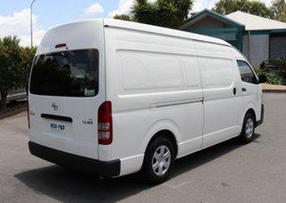 2013 Toyota HiAce KDH221R MY12 Super LWB French Vanilla 4 Speed Automatic Van