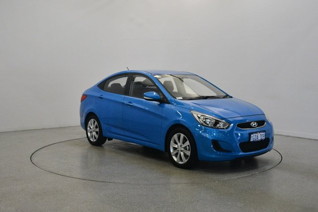 Used Hyundai Accent RB6 MY18 Sport, 2018 Hyundai Accent RB6 MY18 Sport Blue Lagoon 6 Speed Sports Automatic Sedan