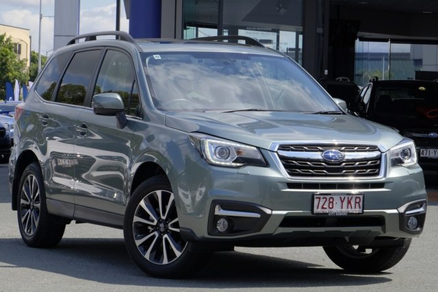 Demo Subaru Forester S4 MY18 2.5i-S CVT AWD, 2018 Subaru Forester S4 MY18 2.5i-S CVT AWD Jasmine Green 6 Speed Constant Variable Wagon
