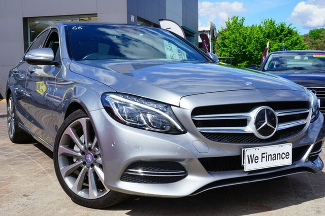 Used Mercedes-Benz C250 W205 7G-Tronic +, 2014 Mercedes-Benz C250 W205 7G-Tronic + Silver 7 Speed Sports Automatic Sedan