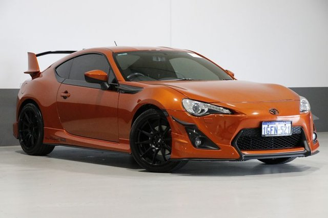 Used Toyota 86 ZN6 GTS, 2013 Toyota 86 ZN6 GTS Orange 6 Speed Auto Sequential Coupe