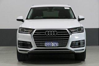 2017 Audi Q7 4M MY17 3.0 TDI Quattro (160kW) White 8 Speed Automatic Tiptronic Wagon.