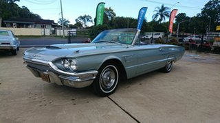 1965 Ford Thunderbird Blue 3 Speed Automatic Convertible.