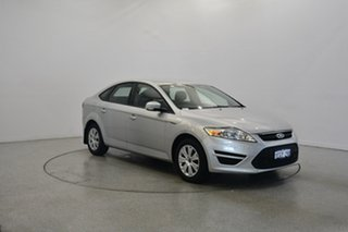 2013 Ford Mondeo MC LX PwrShift TDCi White 6 Speed Sports Automatic Dual Clutch Hatchback.