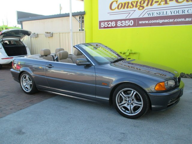 Used BMW 330Ci E46 , 2000 BMW 330Ci E46 Grey 5 Speed Automatic Convertible