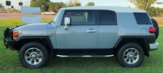 2012 Toyota FJ Cruiser GSJ15R Grey 5 Speed Automatic Wagon
