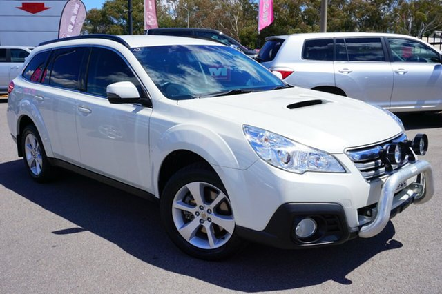 Used Subaru Outback B5A MY13 2.0D Lineartronic AWD, 2013 Subaru Outback B5A MY13 2.0D Lineartronic AWD White 7 Speed Constant Variable Wagon