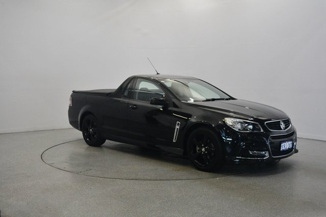 Used Holden Ute VF MY14 SV6 Ute, 2013 Holden Ute VF MY14 SV6 Ute Black 6 Speed Sports Automatic Utility