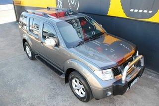 2009 Nissan Pathfinder R51 MY08 TI Graphite Grey 5 Speed Sports Automatic Wagon